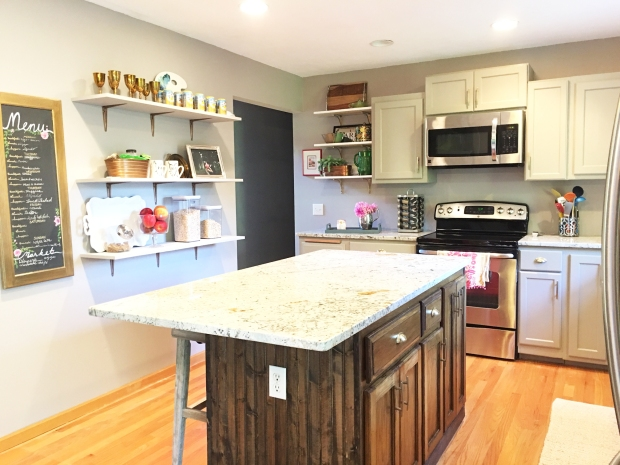 kitchen-before-and-after-oak-cabinet-makeover-paint-ugly-cabinets-grey-kitchen-remodel-diy-6