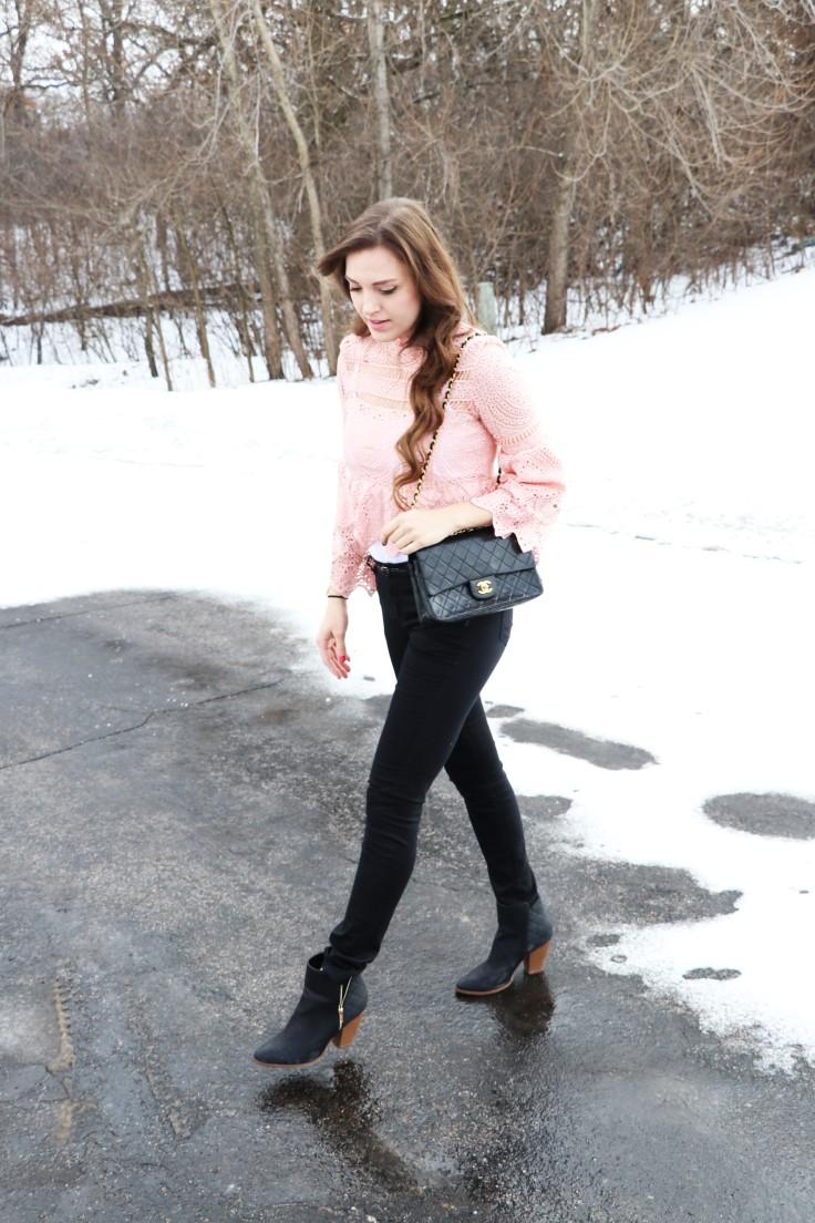 shein-pink-lace-blouse-walking