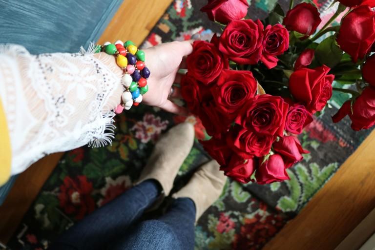 arrange roses copy