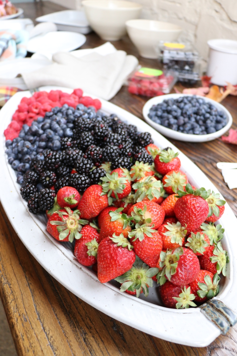 perfect berry platter driscoll's