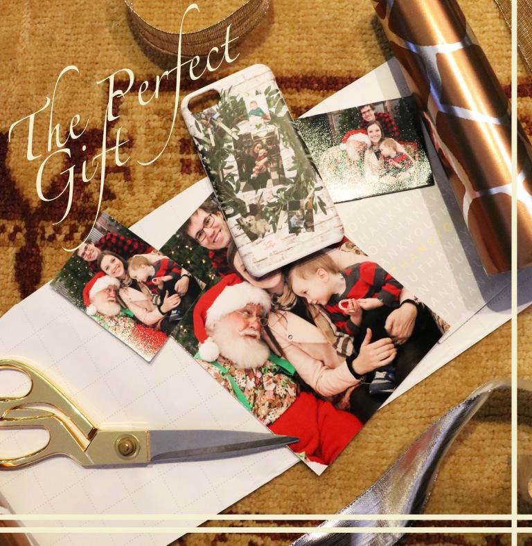 giftwrapping for grandma christmas present copy