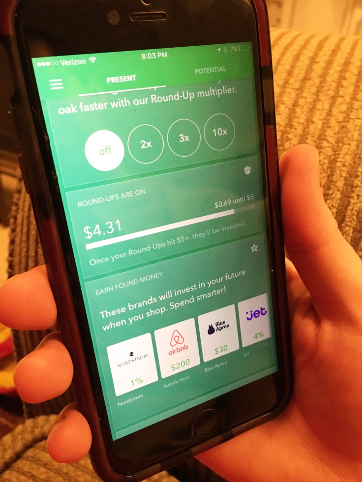 Acorns app earn money through brands you love to shop anyway