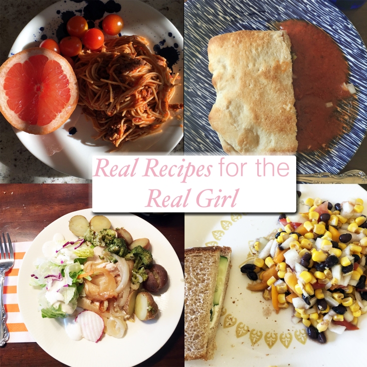 Real recipes for the real girl